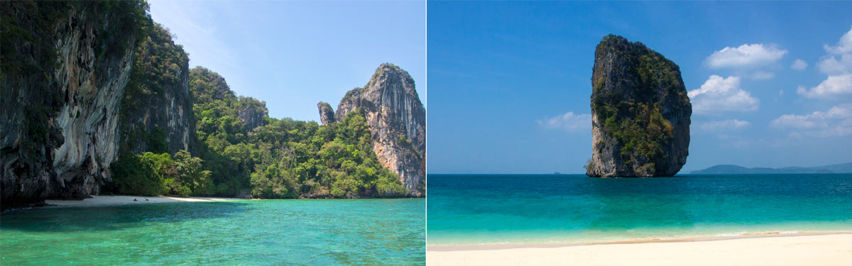 Islands off Krabi: Koh Hong and Koh Poda