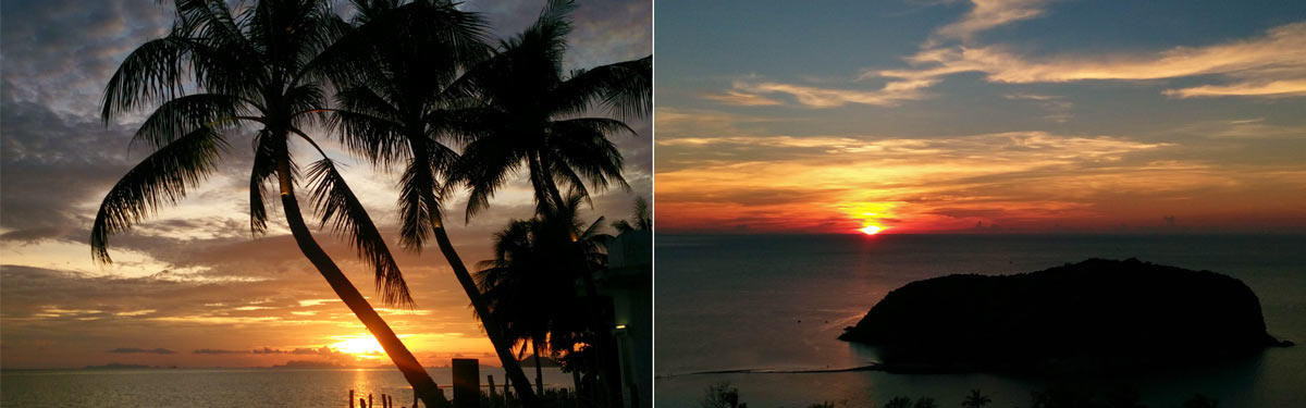 Sunsets on Koh Phangan